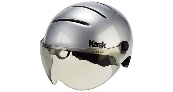 Kask Lifestyle helm incl. vizier zilver